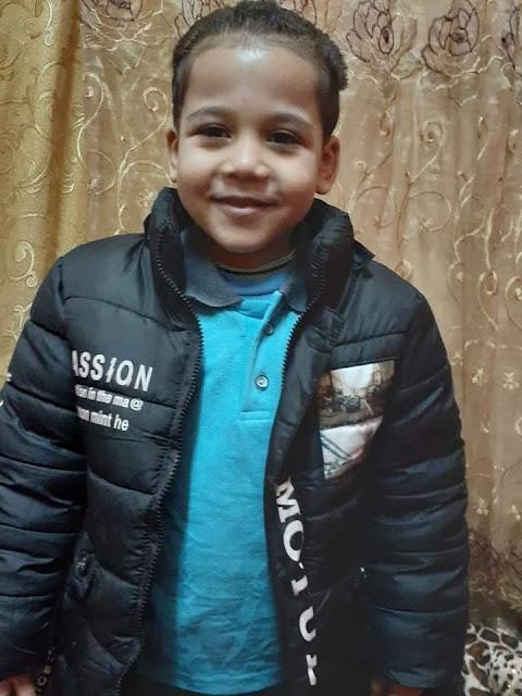 مصرع طفل صدمتة سيارة نقل فنطاس بسوهاج