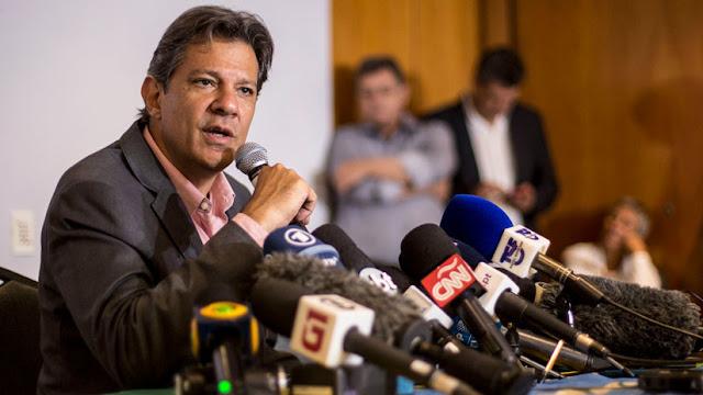 """Haddad, preocupado por """"una escalada armamentística"""" en la región si gana Bolsonaro"""