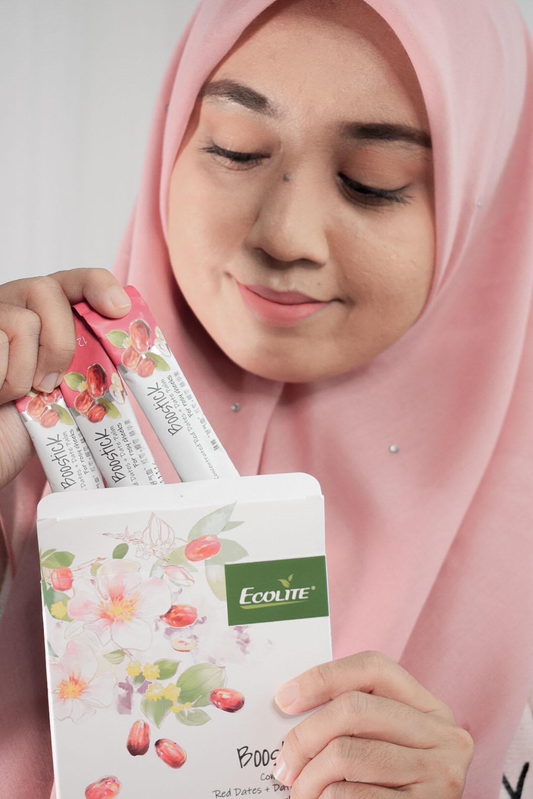 Ecolite Boostick Beri Tenaga Untuk Badan, Cantikkan Kulit dan Legakan Keletihan Mata