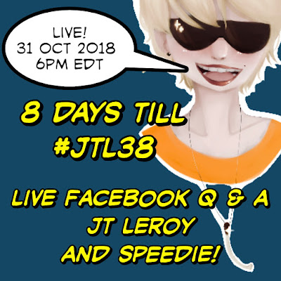 9 days until JT LeRoy's 38th Birthday!