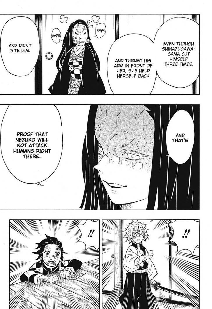 Demon Slayer Kimetsu No Yaiba Chapter 47 Demon Slayer Kimetsu No Yaiba Manga
