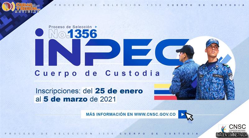 https://www.notasrosas.com/ Inscripciones para selección del Inpec, estarán abiertas hasta el 5 de marzo