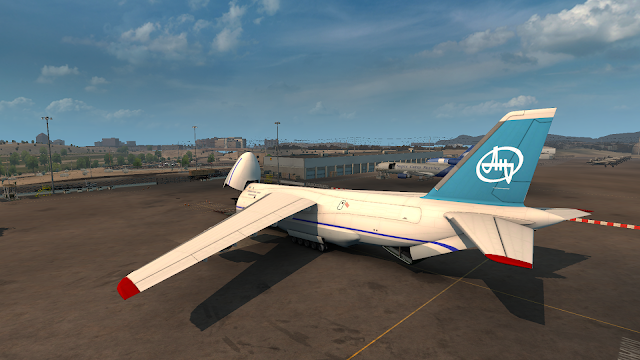ats real plane livery for antonov at albuquerque airport screenshots 2