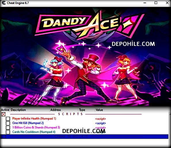 Dandy Ace PC Oyunu Sınırsız Para, Can CT Trainer Hilesi İndir