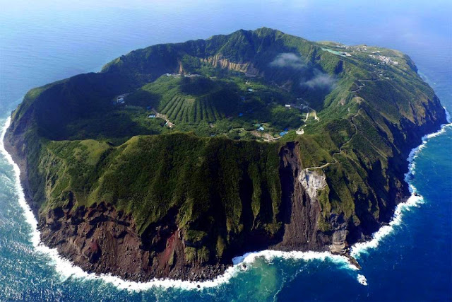 Live Inside an Active Volcano on Aogashima Island