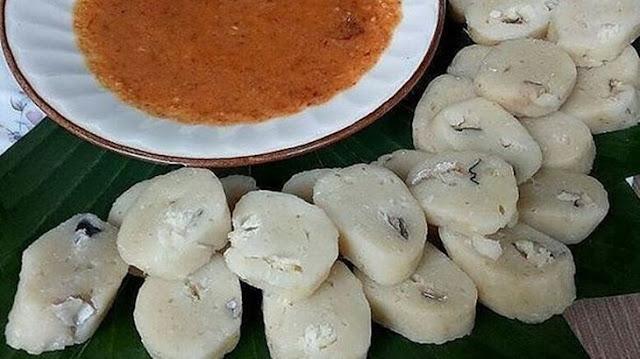 Temet (Kerupuk Basah) Makanan Khas Kapuas Hulu, Kalimantan Barat
