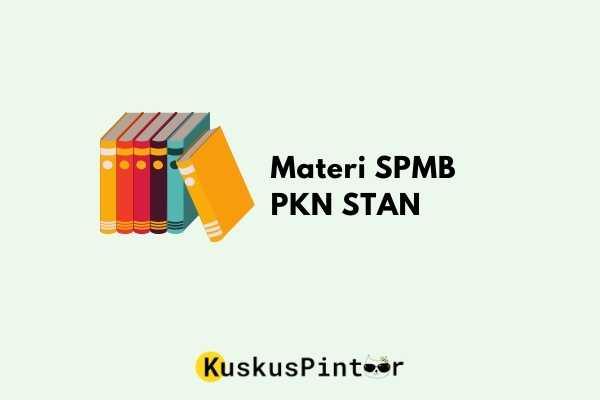 Materi SPMB PKN STAN