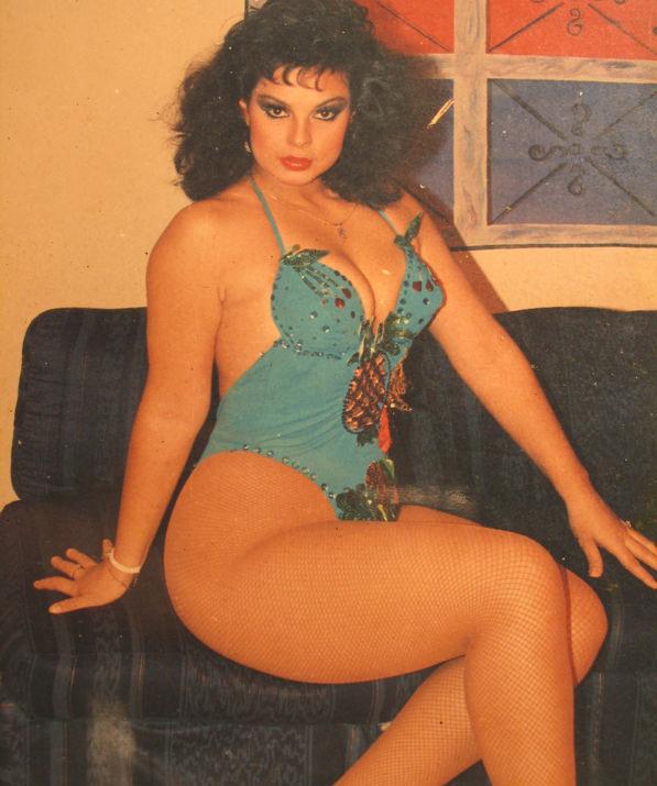 Amparo Brambilla, una de las mejores vedettes del Perú