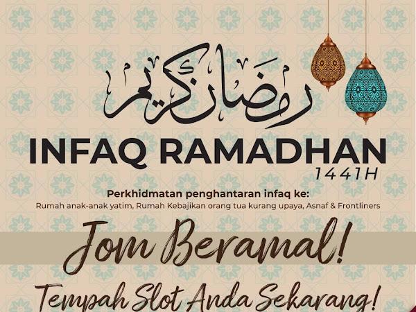 Jom sertai Infaq Ramadhan Lapowey 2021 : berkongsi menu sedap