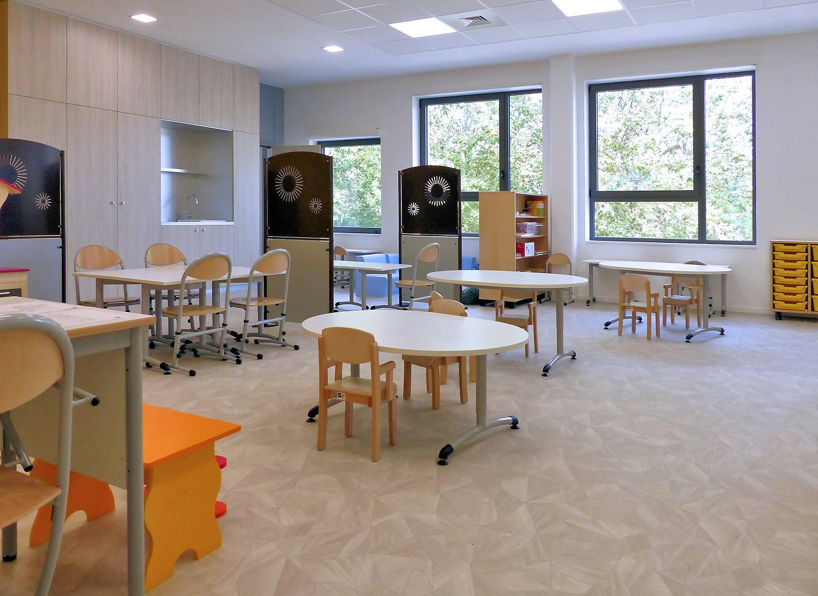 École Charles de Gaulle, Tourcoing - Salle de classe
