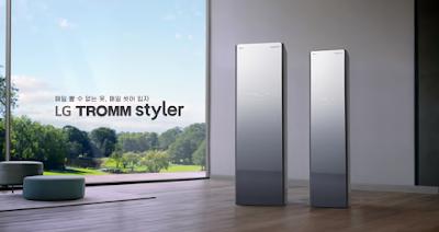 Các tính năng hiện đại công nghệ 4.0 của chiếc máy LG STYLER TROMM S5MB - kính pha lê tráng gương