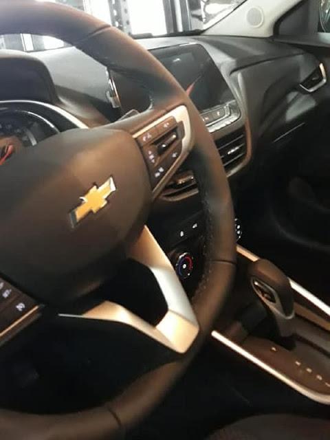 Novo Prisma 2020 se chama Onix Sedan e terá motor turbo