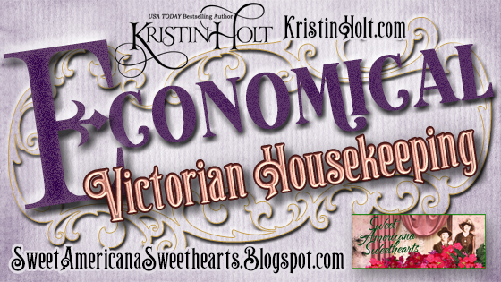 Kristin Holt | Economical Victorian Housekeeping