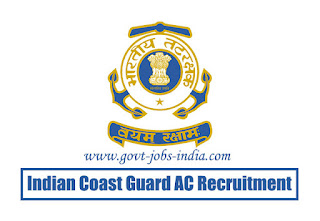 Indian Coast Guard AC Recruitment