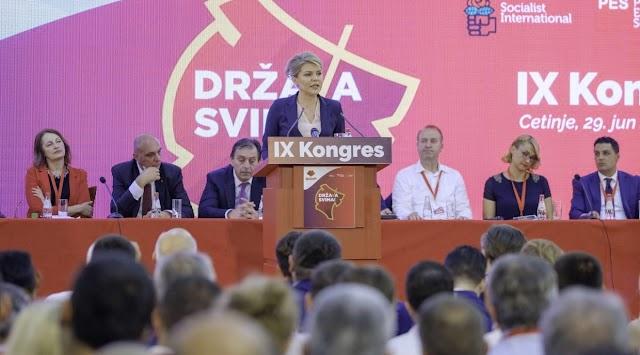 Draginja Vuksanović Stanković od danas na čelu SDP-a