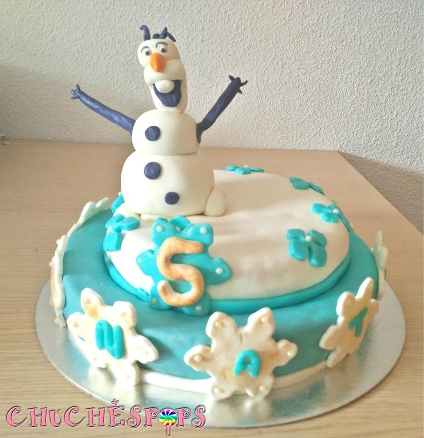 Tarta Olaf Frozen