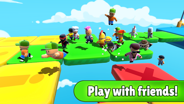 Stumble Guys: Multiplayer Royale Hileli Apk - Elmas Karekter Hileli Apk