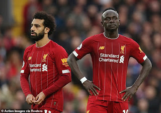 Sadio Mane admits to problems with Mohamed Salah
