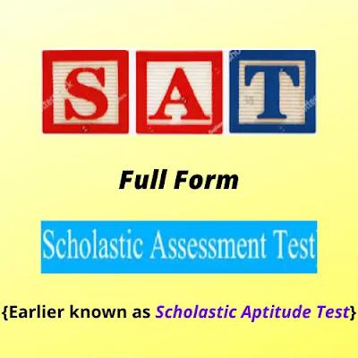 SAT Full Form