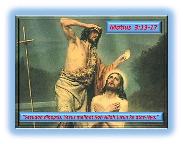 Matius 3:13-17