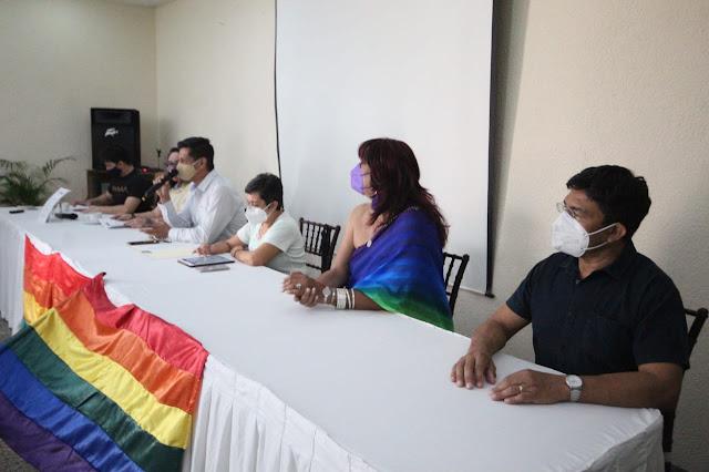 Presentan 14 organizaciones la Agenda del Colectivo LGBTTTIQ de Yucatán