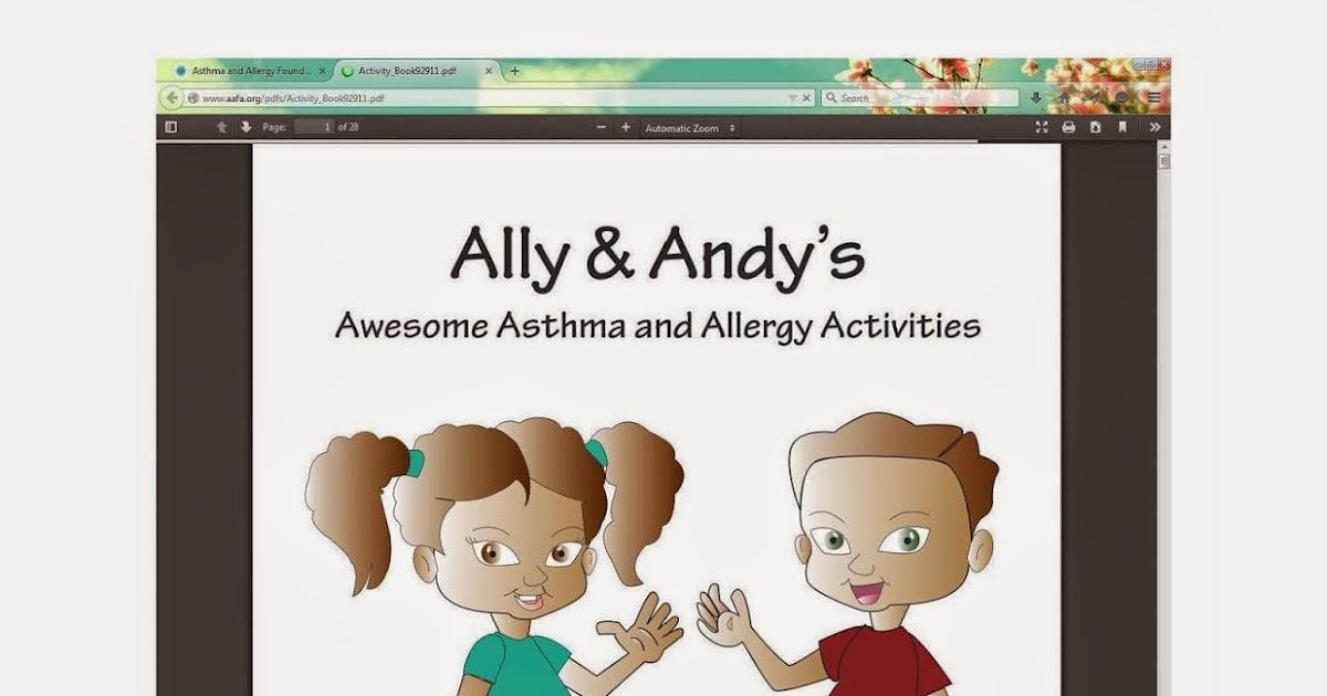 Asthma Comic Book