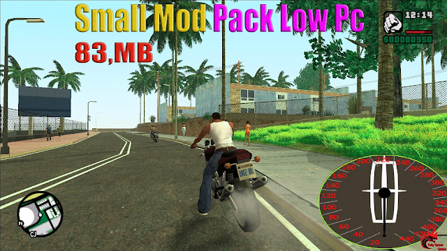 GTA San Andreas Small Mod Pack Low Pc