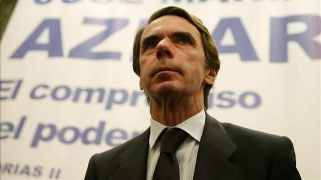 """Aznar es un ejemplo de """"rico irresponsable y egoista"""" según el New York Times"""