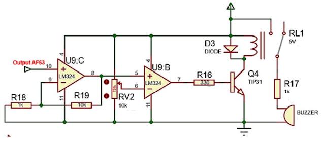 Implementasi sensor Gas AF63 dengan sistem kendali ON/OFF