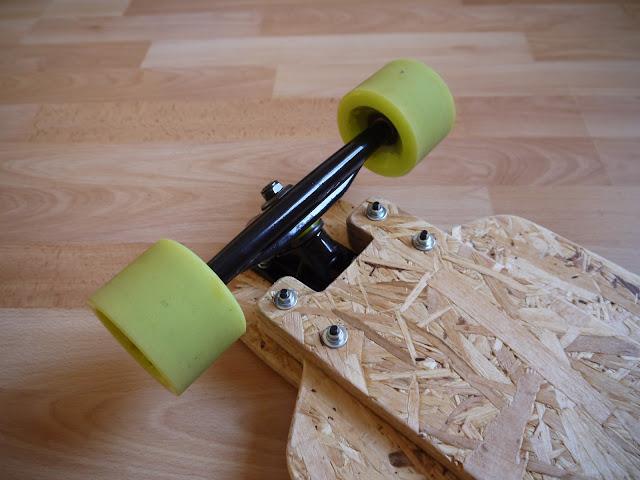 Forked drop-down OSB longboard