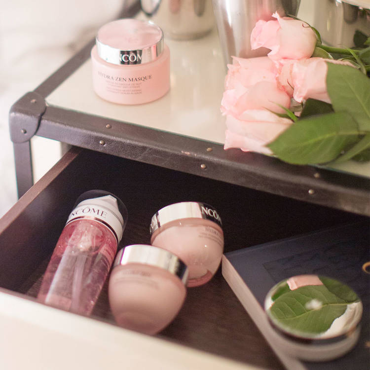 GLOW'N'ROSES,LANCÔME , Lancôme France , rosemademoiselle , rose mademoiselle , blog beauté ,Paris