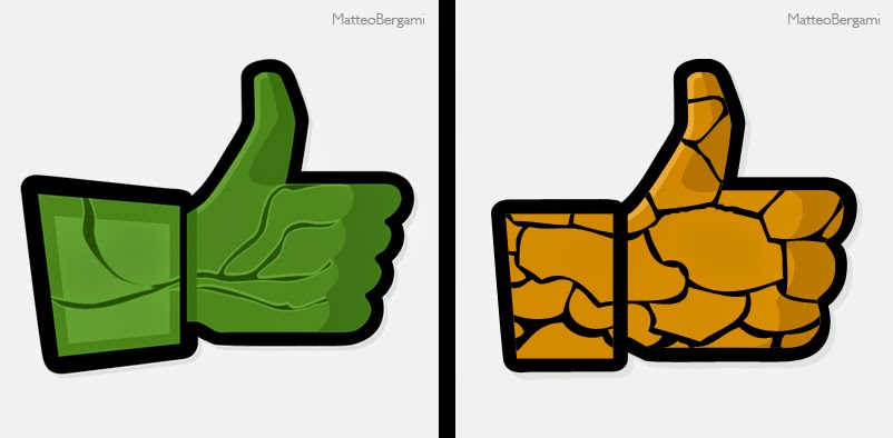 07-The-Hulk-&-Thing-Matteo-Bergami-Facebook-Hand-Thumbs-Up-Art-www-designstack-co