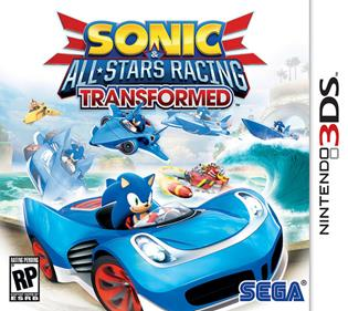 Rom Sonic & All-Stars Racing Transformed 3DS