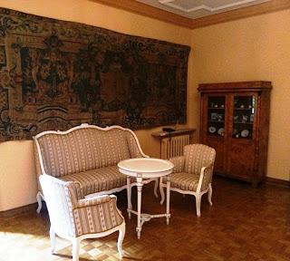 Na drugim piętrze Pałacu w Nieborowie
