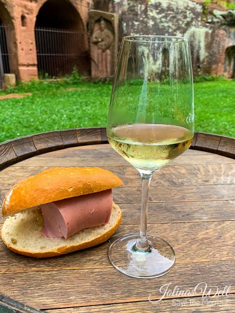 Wein an der Eremitage Bretzenheim