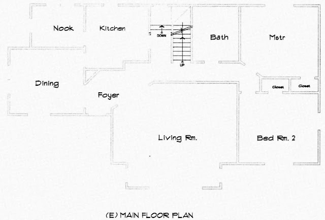 2209 SE Bybee, Portland, Oregon, Main Floor Plan