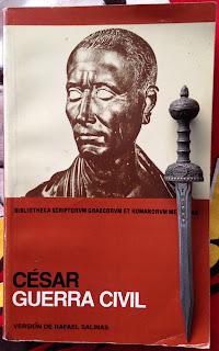 Portada del libro La guerra civil, de Cayo Julio César