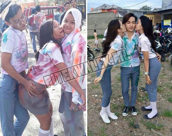 Foto Foto Hot Cewek SMA Rayakan Kelulusan