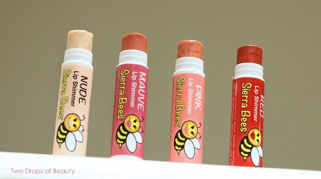 sierra bees бальзамы для губ цветные
