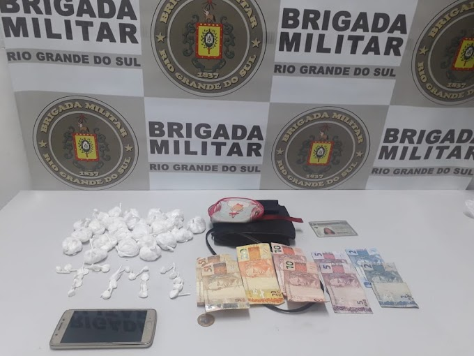 Mulheres são presas com quase 300 porções de cocaína em Gravataí