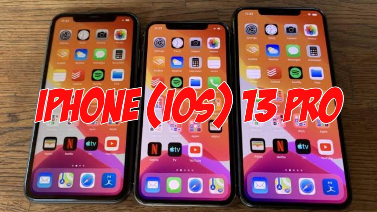 Tema iPhone 13 Pro Untuk OPPO & Realme