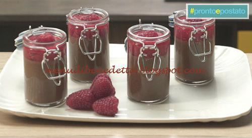 Pronto e postato - Mousse di cioccolato all'acqua ricetta Benedetta Parodi