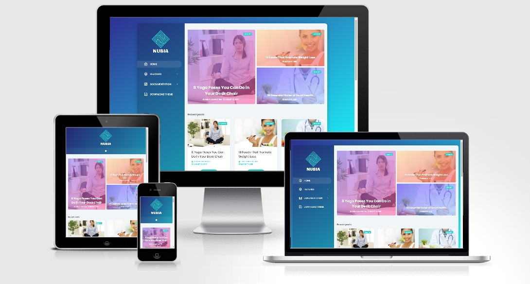 Nubia - Responsive Blogger Template