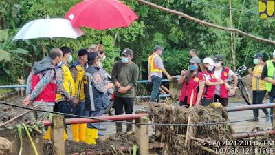 Dikritik Sumendap, Jembatan Abuang Segera Direnovasi Kementerian PUPR