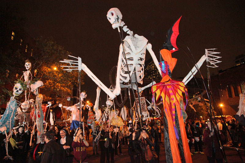 13 of the Best Places to Celebrate Halloween
