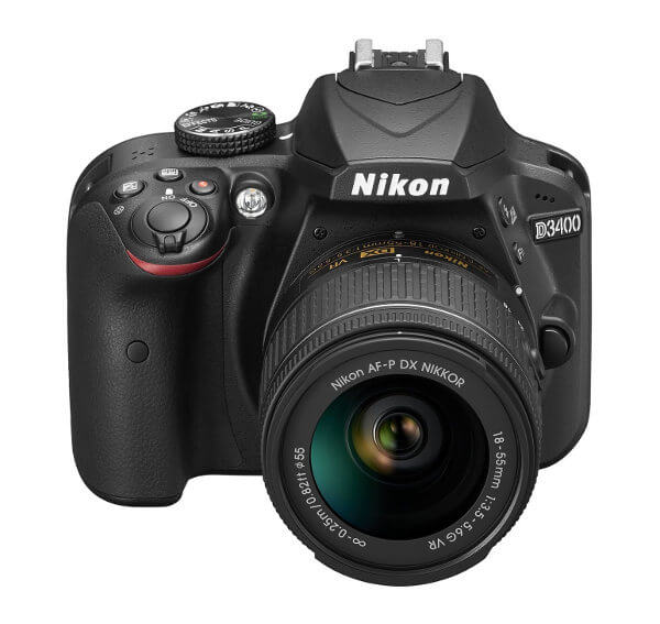 Nikon D3400 frontal