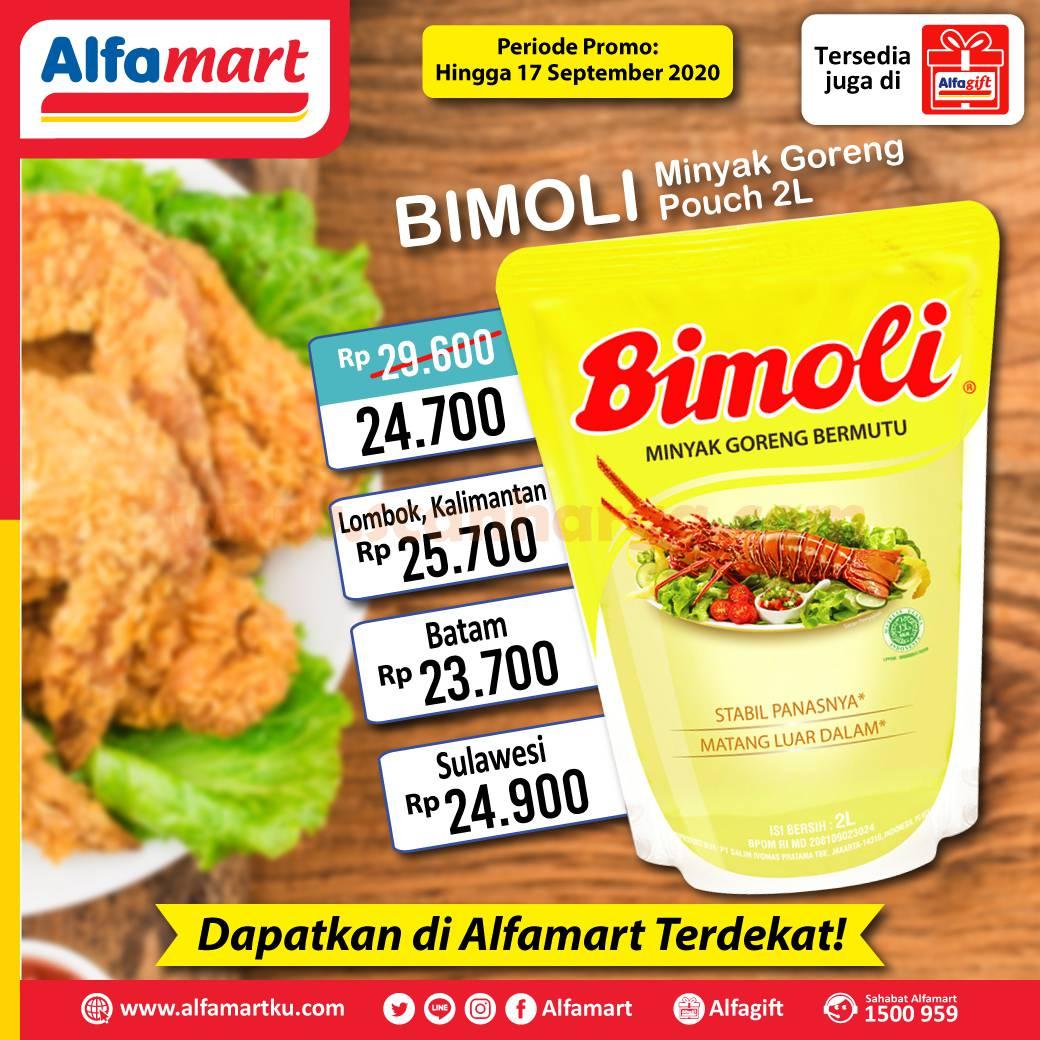 ALFAMART Promo Minyak Goreng Bimoli Diskon Harga Super Spesial Hingga 17 September 2020