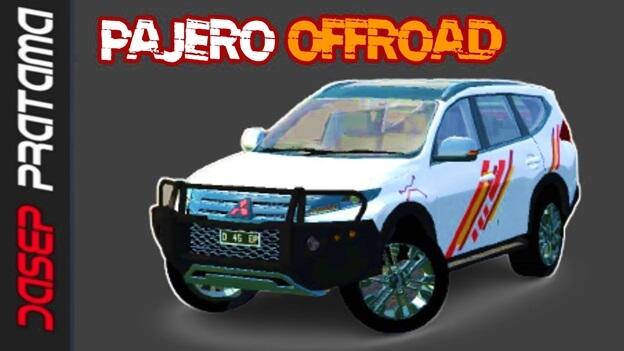 Download Mod Mitsubishi Pajero Offroad