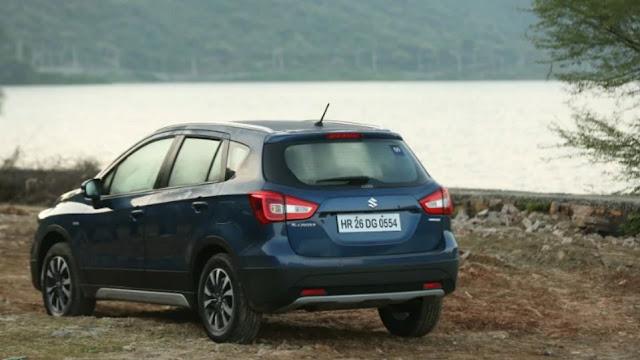 Maruti Suzuki S-Cross  भारत में लॉन्च हुई मारुति सुजुकी एस-क्रॉस पेट्रोल; कीमतें L 8.39 लाख से शुरू होती हैं 2020 ऑटो एक्सपो में पुतला दिखाने के बाद, मारुति सुजुकी ने भारत में 2020 एस-क्रॉस पेट्रोल कॉम्पैक्ट एसयूवी लॉन्च की है, जिसकी लागत सिग्मा गाइड वेरिएंट के लिए lakh 8.39 लाख से शुरू होगी और अल्फा स्वचालित संस्करण के लिए iant 12.39 लाख होगी। । सभी लागत एक्स-शोरूम, दिल्ली हैं। नई मारुति सुजुकी एस-क्रॉस पेट्रोल 4 वेरिएंट में प्राप्त करने योग्य है। पुतला केवल कॉर्पोरेट के नेक्सा डीलरशिप के माध्यम से नहीं बल्कि प्रभावी रूप से ऑन-लाइन बुक किया जाएगा। एस-क्रॉस पेट्रोल के लिए बुकिंग पहले से ही ₹ 11,000 की टोकन मात्रा के लिए खुली है, जबकि अब से कई दिनों में डिलीवरी शुरू हो जाएगी।  Maruti Suzuki S-Cross  भारत में लॉन्च हुई मारुति सुजुकी एस-क्रॉस पेट्रोल; कीमतें L 8.39 लाख से शुरू होती हैं 2020 ऑटो एक्सपो में पुतला दिखाने के बाद, मारुति सुजुकी ने भारत में 2020 एस-क्रॉस पेट्रोल कॉम्पैक्ट एसयूवी लॉन्च की है, जिसकी लागत सिग्मा गाइड वेरिएंट के लिए lakh 8.39 लाख से शुरू होगी और अल्फा स्वचालित संस्करण के लिए iant 12.39 लाख होगी। । सभी लागत एक्स-शोरूम, दिल्ली हैं। नई मारुति सुजुकी एस-क्रॉस पेट्रोल 4 वेरिएंट में प्राप्त करने योग्य है। पुतला केवल कॉर्पोरेट के नेक्सा डीलरशिप के माध्यम से नहीं बल्कि प्रभावी रूप से ऑन-लाइन बुक किया जाएगा। एस-क्रॉस पेट्रोल के लिए बुकिंग पहले से ही ₹ 11,000 की टोकन मात्रा के लिए खुली है, जबकि अब से कई दिनों में डिलीवरी शुरू हो जाएगी।  मारुति सुजुकी एस-क्रॉस पर सबसे बड़ा प्रतिस्थापन पावरट्रेन शामिल है। कॉम्पैक्ट एसयूवी 1.5-लीटर Ok15B पेट्रोल इंजन से ऊर्जा को आकर्षित करती है जो 103 बीएचपी और 138 एनएम का पीक टॉर्क विकसित करती है। कहने की जरूरत नहीं है, इंजन बीएस 6 अनुपालन है और इसी तरह मॉडल के लाइन-अप के भीतर सियाज, एक्सएल 6, एर्टिगा और विटारा ब्रेजा को अधिकार है। मोटर SHVS माइल्ड-हाइब्रिड पता है कि कैसे ऊर्जा की आपूर्ति और गैसोलीन प्रभाव को बढ़ाता है के साथ आता है। ट्रांसमिशन विकल्प एक पांच-स्पीड गाइड ट्रांसमिशन और एक चार-स्पीड कम्प्यूटरीकृत इकाई को गले लगाते हैं। क्रॉसओवर सात ट्रिम्स और 5 रंग विकल्पों के साथ पूरा करने योग्य है।  Maruti Suzuki S-Cross  भा