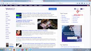 Halaman Utama Yahoo